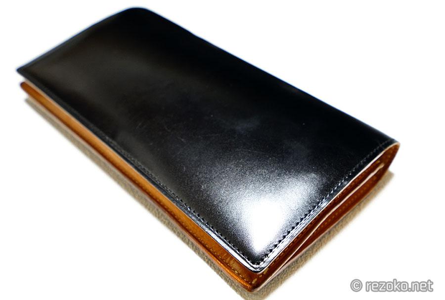 GANZOの長財布1年経過