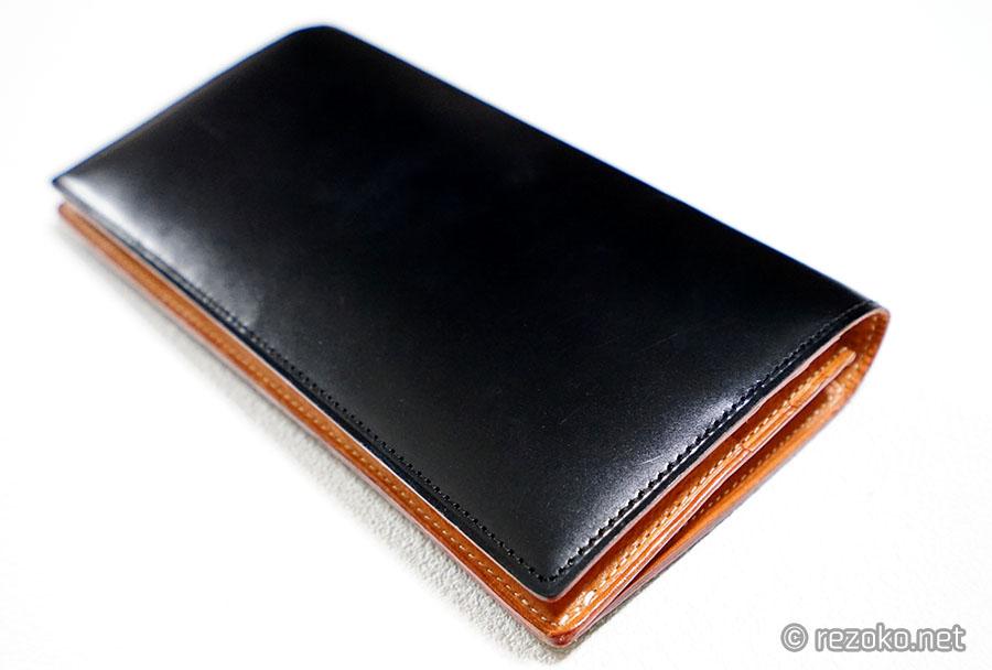 ガンゾの財布外側