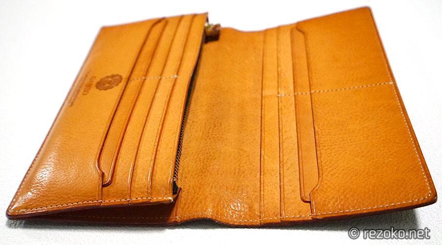 4ヶ月後のganzoの財布