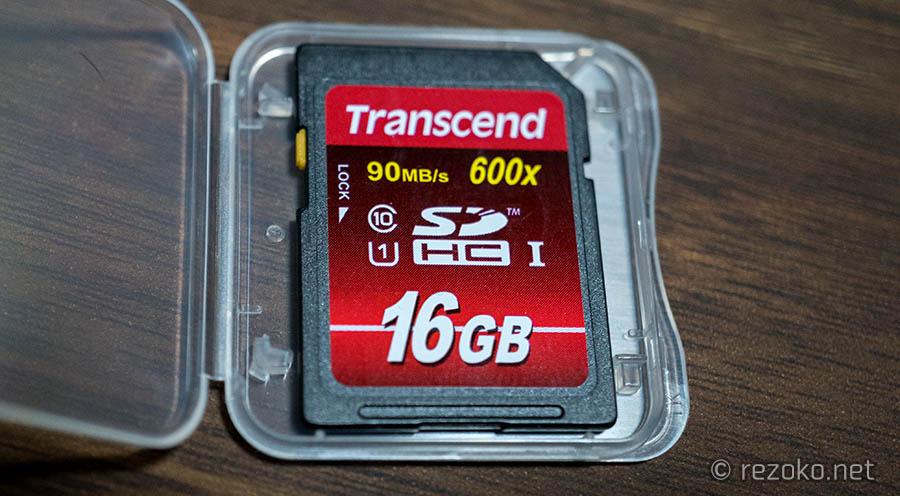 transcendのSDカード