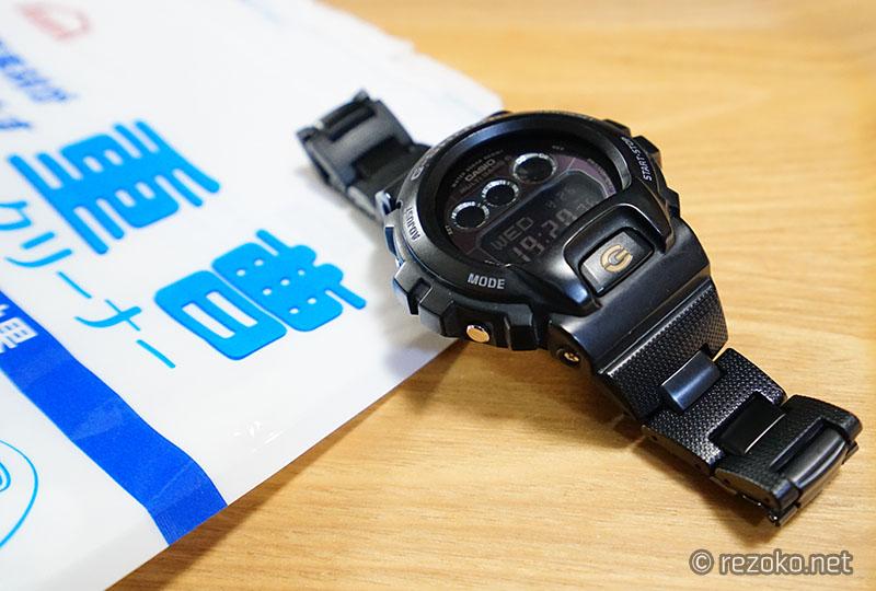 時計と重曹