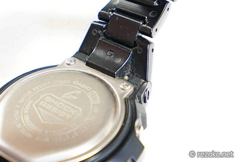 洗浄前の時計