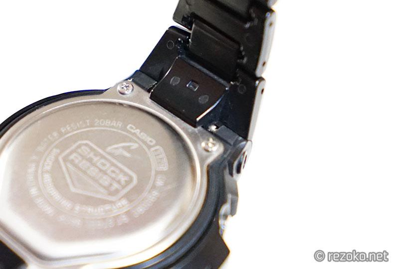 洗浄後の腕時計